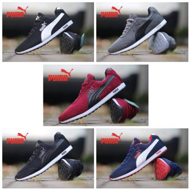 Sepatu Puma Racer Classic Suede Sneakers Kasual Pria Wanita Santai Kerja  Grade Ori Vietnam Sekolah 902d9c10e1