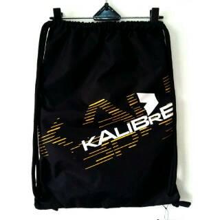 Kalibre Drawstring Bag 910702-000 Sackpack Gymsack Sack Bag Gym Bag Tas Serut Ransel Anti Air Hitam