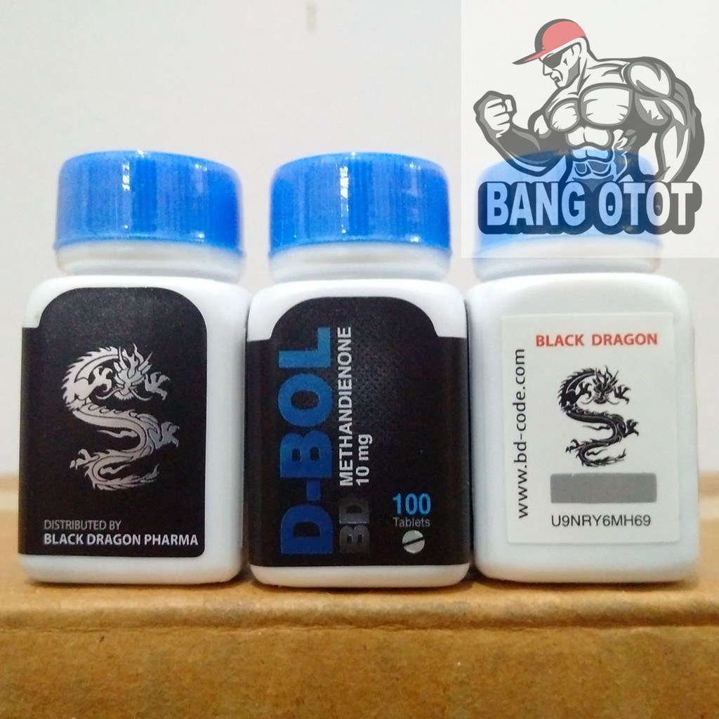 BD D-BOL 10mg 100 Tablets Black Dragon Pharma BD Methandienone Dianabol  Dbol Dbolic D Bol 100Tabs