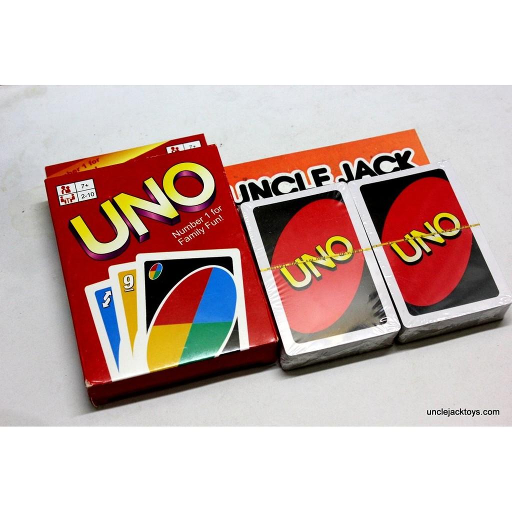 Mainan Balok Susun Tower Stacko Uno Shopee Indonesia Paket Kartu Game