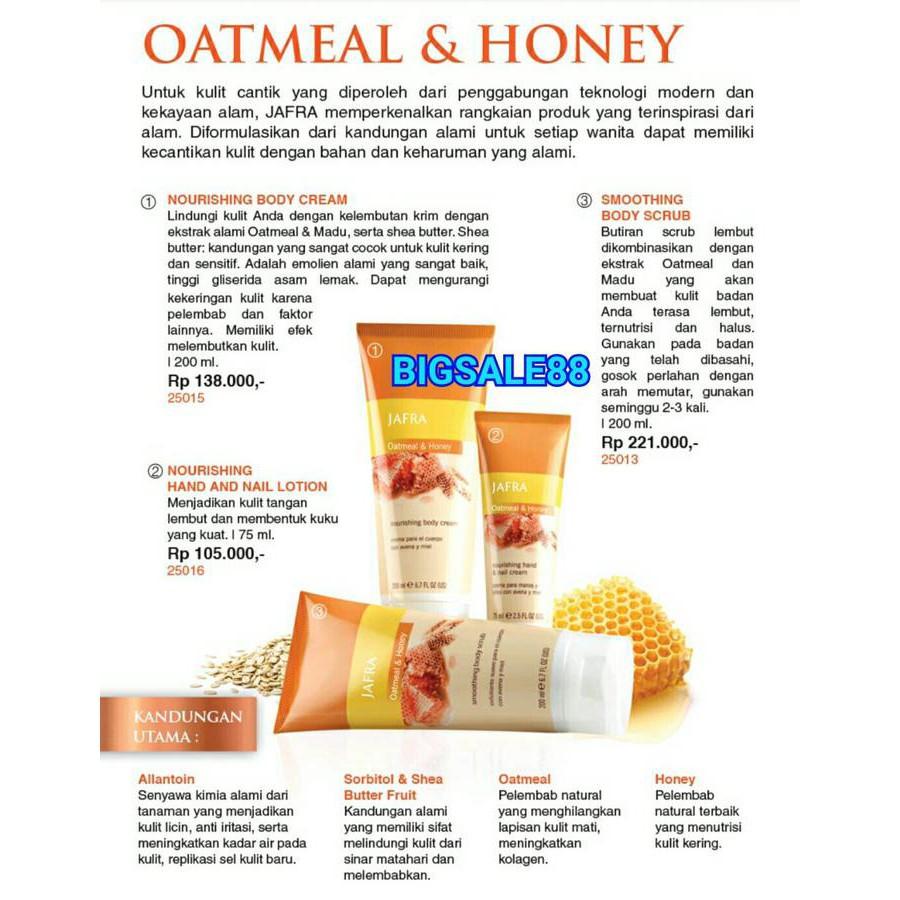 Nourishing Oatmeal Shopee Indonesia Jafra Hand Ampamp Nail Lotion