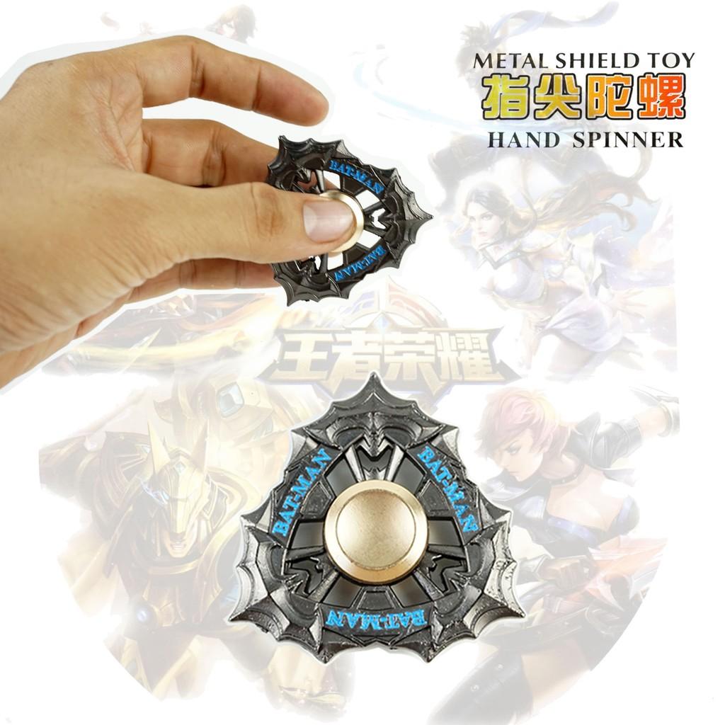 Fidget Spinner Overwatch Naruto Batman Dragon Fan Shield Shuriken Metal Hand Toys Focus Game Spiner |