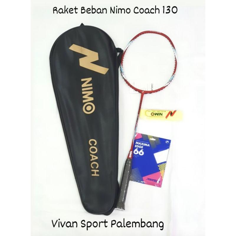 Raket Badminton Nimo Coach 130 / Raket Beban / Raket Latihan Nimo Coach 130gr