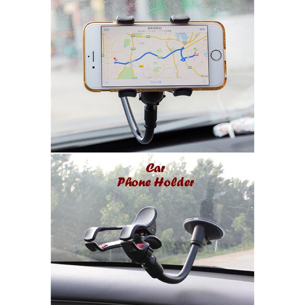 [GL407] Holder HP/GPS/MP4 di Stang Motor / Universal Holder Motorcycle | Shopee Indonesia