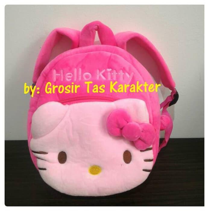 Tas Sekolah Ransel Anak Karakter Hello Kitty 2 Rest 25cm Pink Boneka ... 189c0847e3