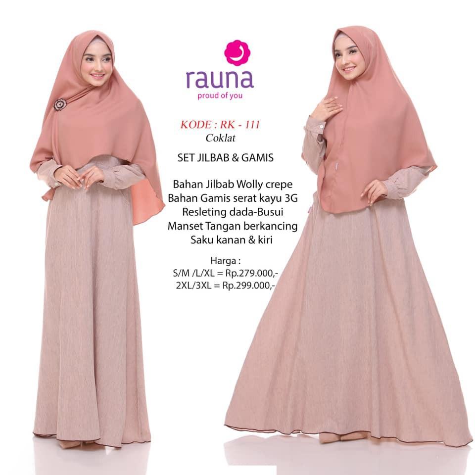 Katalog Gamis Rauna Terbaru 2019 Hijab Army