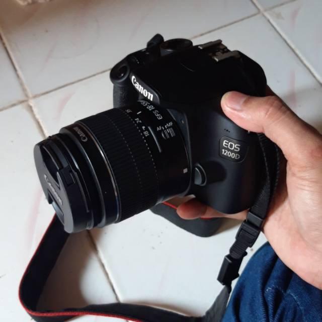 Kamera canon dslr 1200 d