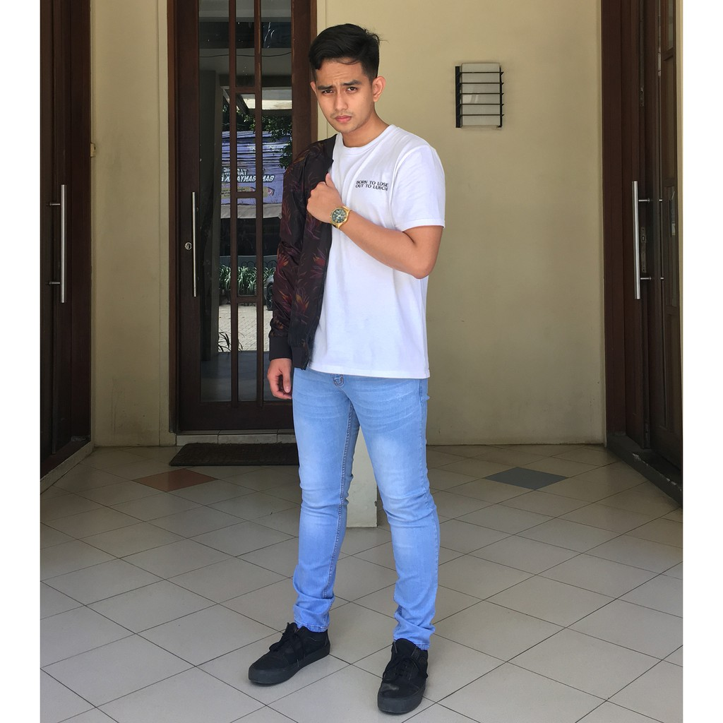Levis 510 Skinny Fit Jeans Fonzie Blue 05510 0762 Shopee Indonesia Commando 0654 Size 31
