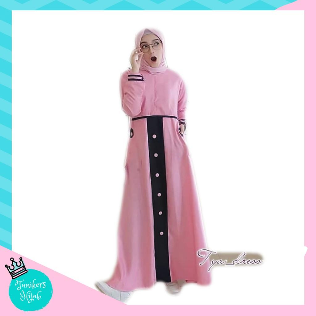 AB Agen Baju Official Shop - maxi emma gamis syari muslim wanita long dress  ori jumbo (maxi aja )  3bc0389a8d