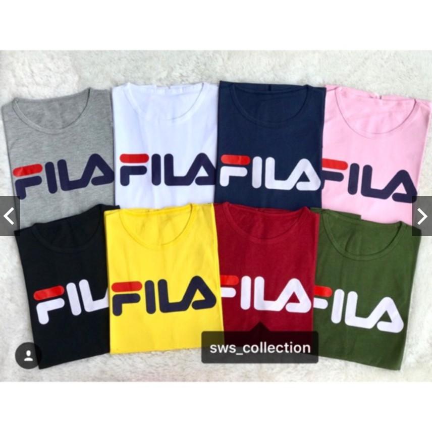 LOLILE KAOS FILA PENDEK/ FILA PANJANG ALL SIZE FIT TO L | Shopee Indonesia