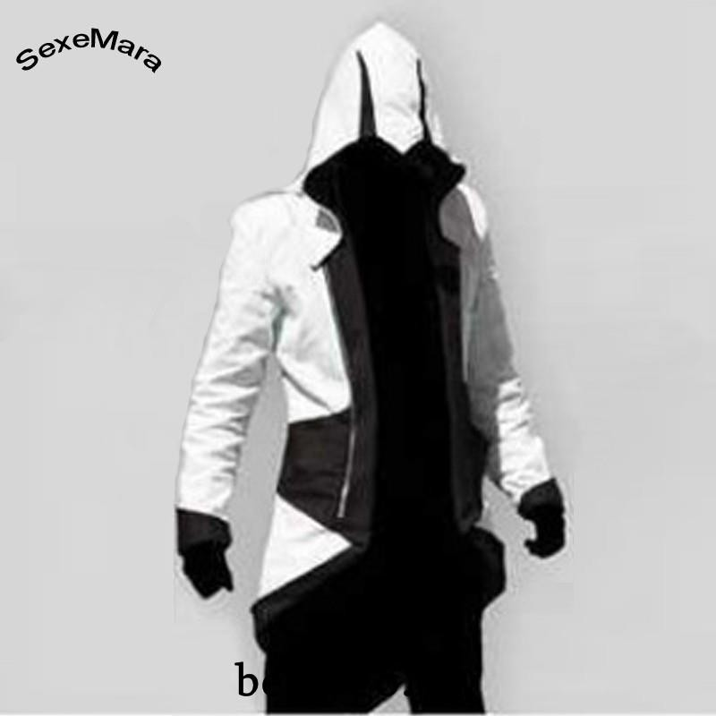 Jaket Hoodie Assassins Creed Untuk Cosplay Shopee Indonesia