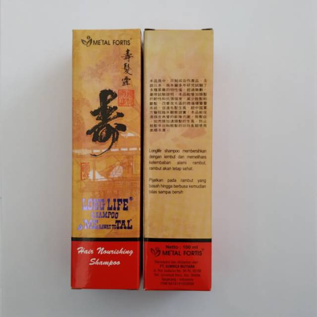 Sampo Metal Pemanjang Rambut Original 100 Ml Shopee Indonesia