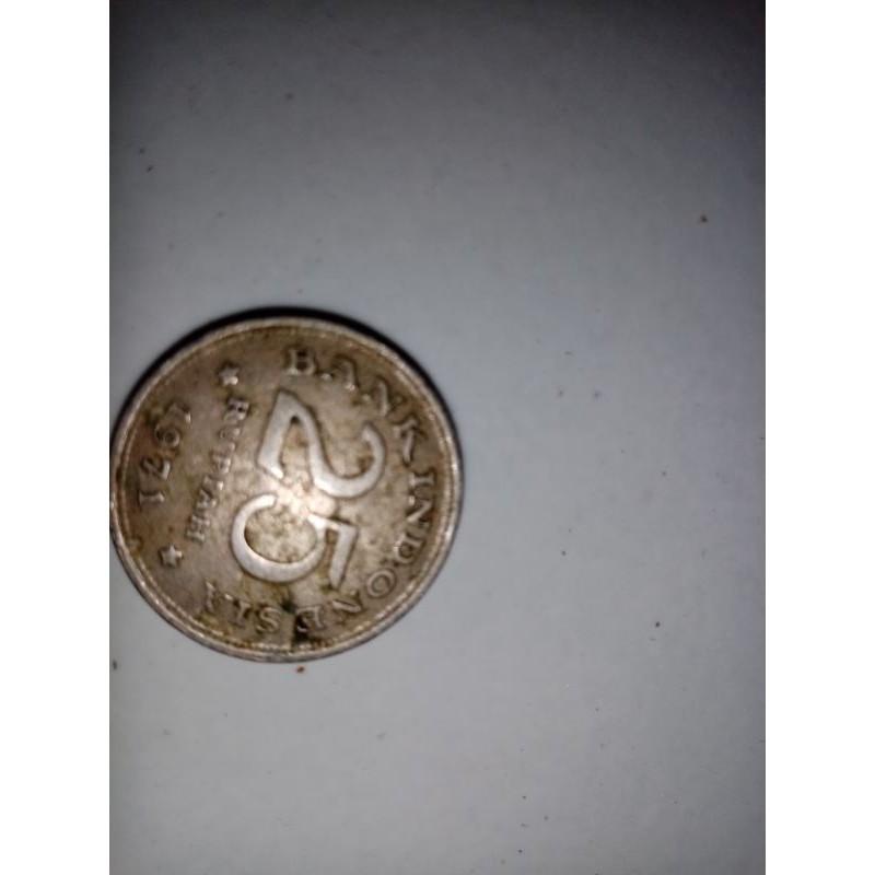 Koin 25 rupiah 1971