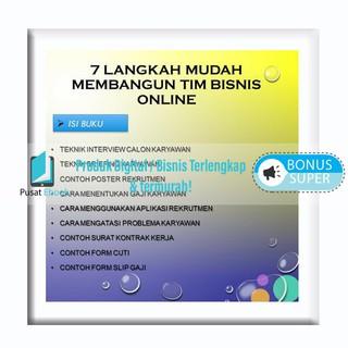 Promo 7 Langkah Membangun TIM Bisnis Online | Shopee Indonesia