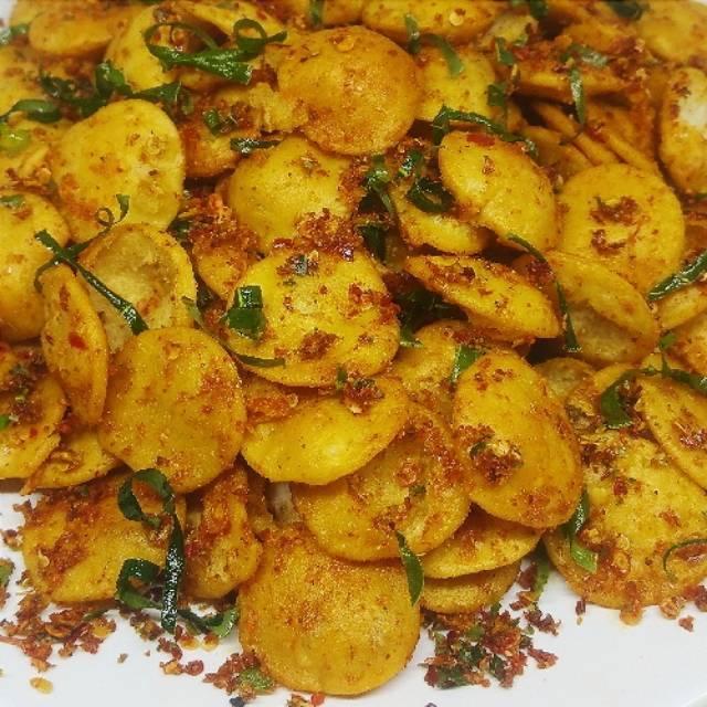 Makanan Khas Bandung Camilan Cireng Goreng Cigor Ukuran Kecil