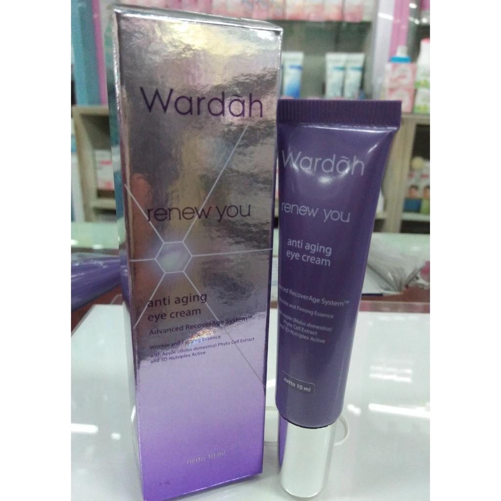Wardah Renew You Anti Aging Series Paket Perawatan Kisskozz Be Glow Box Kecil Shopee Indonesia