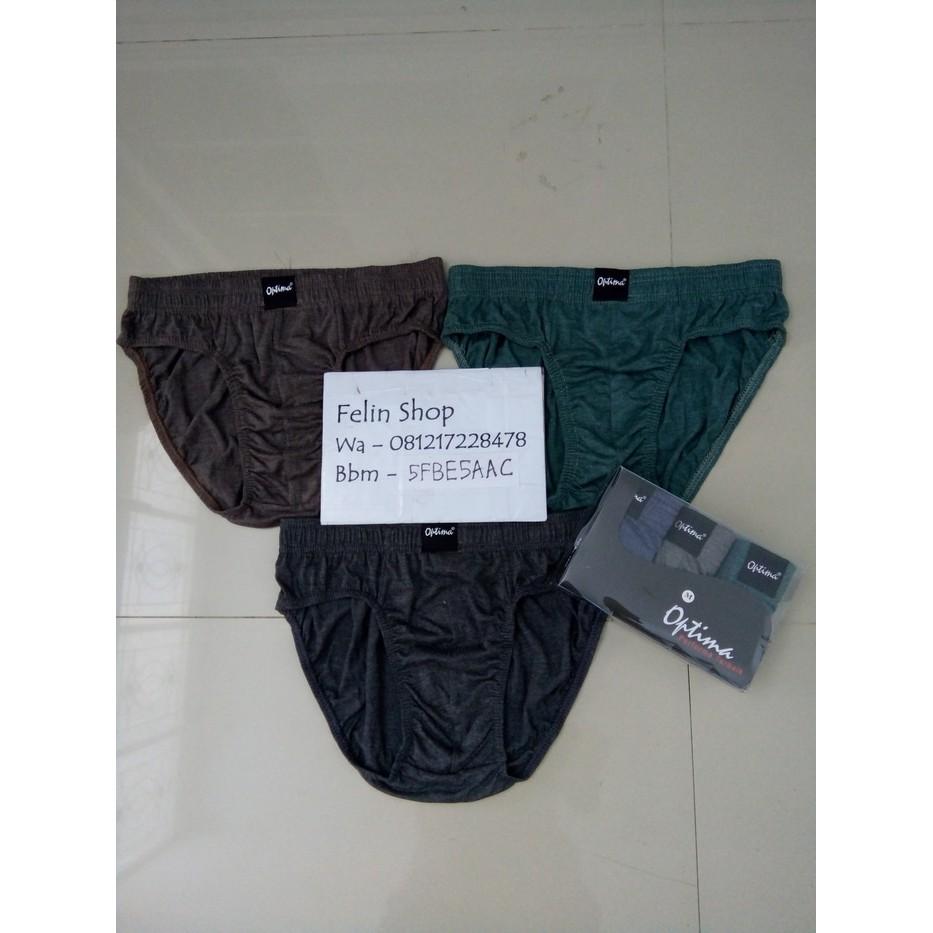 Celana Dalam Boxer Optima 2pcs Daftar Harga Terbaru Terlengkap Pria Spandek Biru Box 281