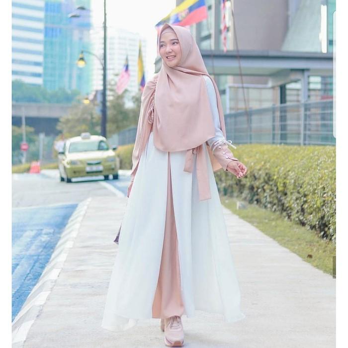 Unik Baju Gamis Wanita Terbaru Gamis Murah Gamis Set Syari Mey Diskon Shopee Indonesia
