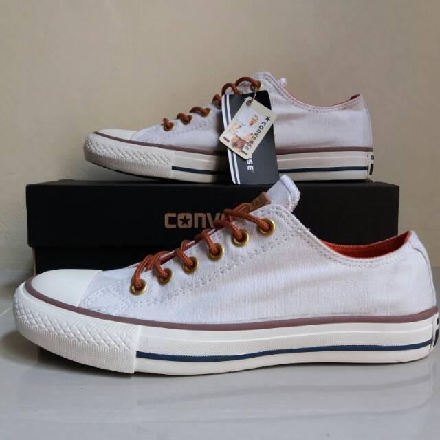 Sepatu converse grade premium putih  a8f36a4cf9