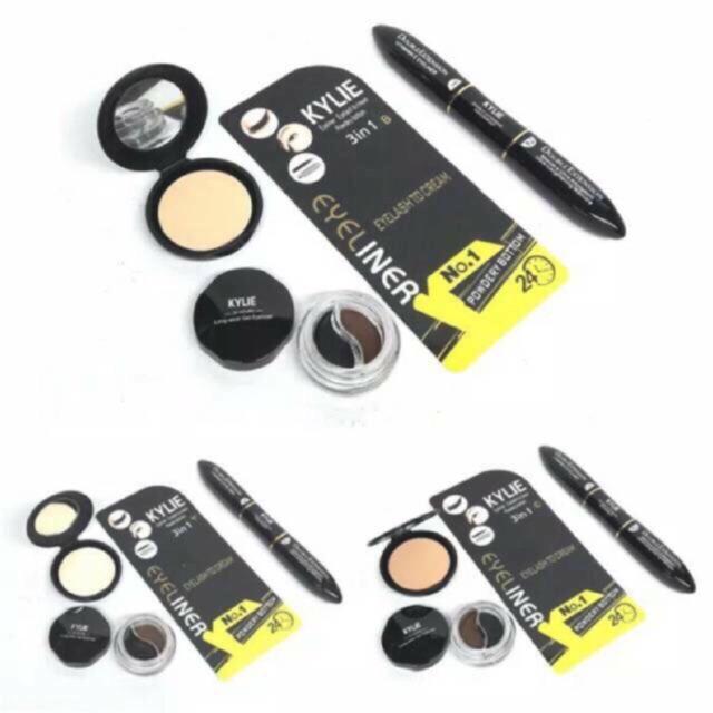 best produk 3 in 1 the colossal maybeline set paket 3in1 maskara bedak eyeliner gratis ongkir | Shopee Indonesia