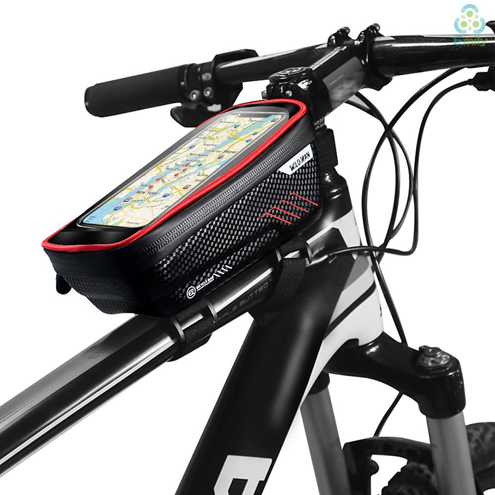 Bike Bicycle Cycle Front Top Tube Triangle Frame Storage Bag Pack Pouch EVA Bags