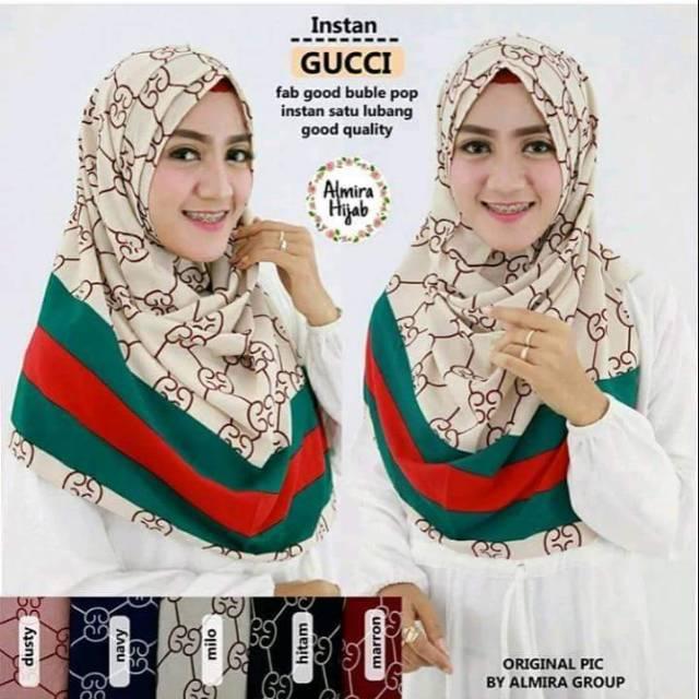 95211085c63 Pastan Lipit Gucci   Pastan Eva   Hijab Kerudung Jilbab Pastan Pasmina  Instan Khimar