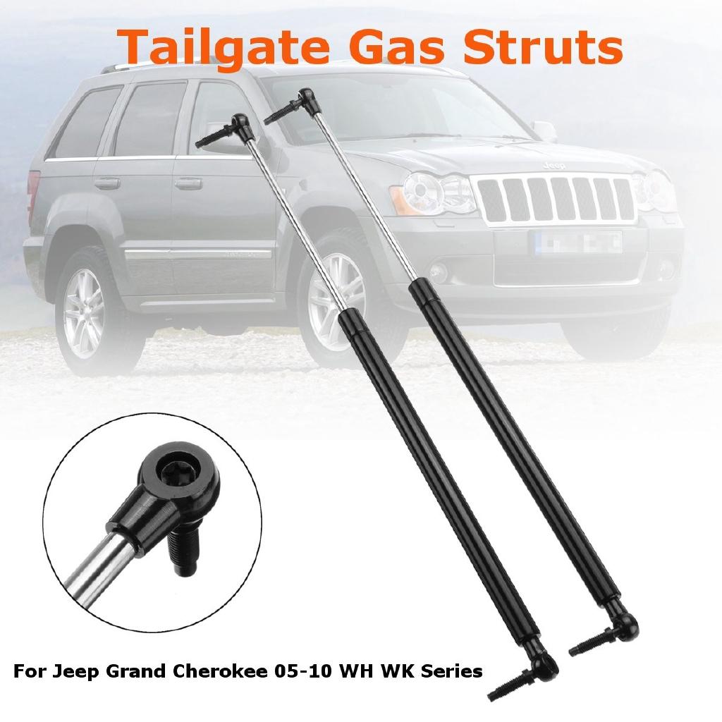2 Liftgate 2 Window Lift Supports Gas Struts Fit 05-10 Jeep Grand Cherokee