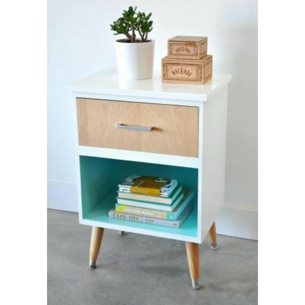 meja kecil lemarin side table nakas buffet minimalis