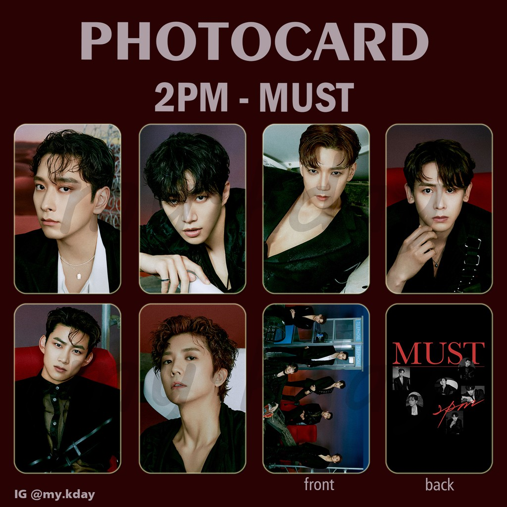 PC-0545, Photocard 2PM MUST 2 sisi
