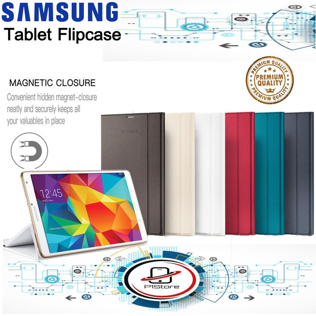 Flip cover Tablet Samsung A10 / A8 / A7 Samsung Flip cover sarung Tablet