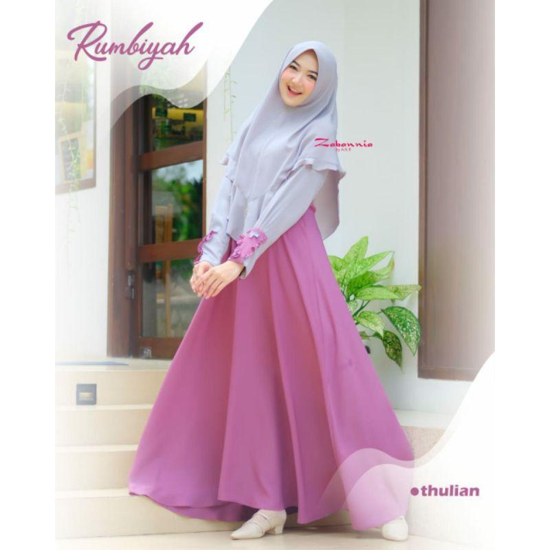 rumbiyah dress by zabannia