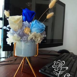 diy hiasan mini gazeboo dengan rangkaian bunga kering mix