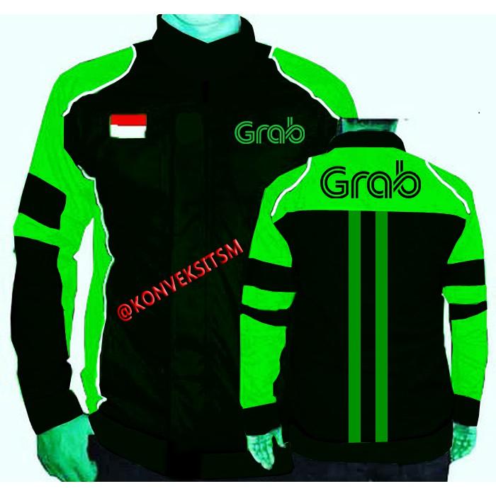 Unik jaket grab sweater grab hijau ojek online TERMURAH grabbike grab bike  grab parcell Diskon  6e91ead9e0