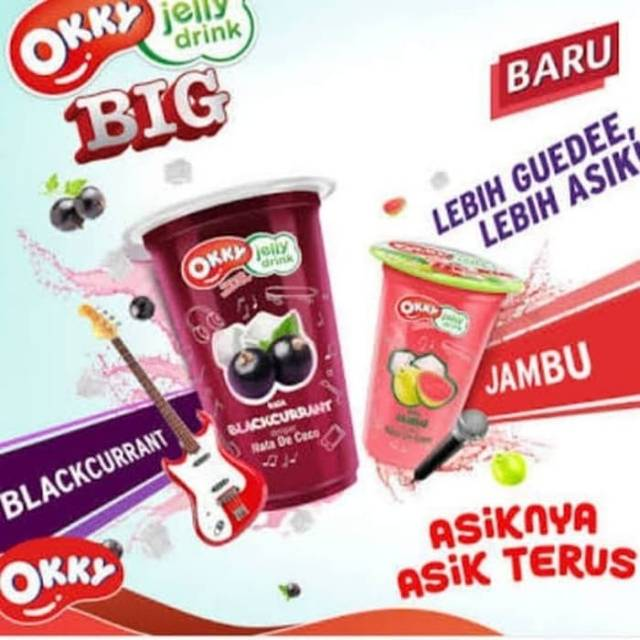 Okky Jelly Drink Big 220 Ml Isi 24 Cup Shopee Indonesia
