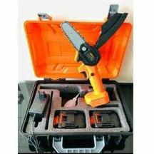 Mini Chainsaw Cordless Xenon CDMCS1845/ Mesin Gergaji Mini 18V/ Cordless Chainsaw Xenon 2 Baterai