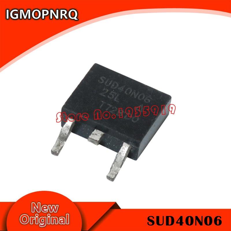 10pcs Ic Sud40N06-25L To-252 40n06 To252 Sud40N06 40n06-25l
