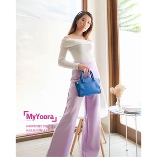 Basic HW Culottes Pants Celana Kulot Panjang Wanita