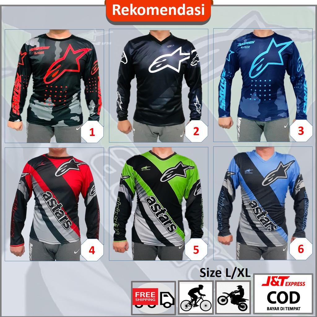 Baju Jersey Sepeda MTB Downhill dan Baju sepeda Terbaru