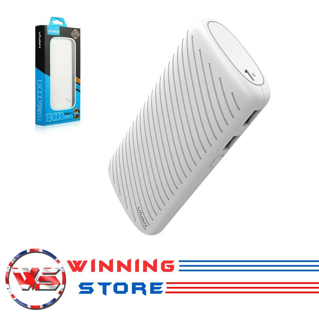 Powerbank Vivan B5 5200mah For Iphone 5 5s 6 6s 6plus 7 7plus Power Bank 5200 Mah Original 100 Shopee Indonesia