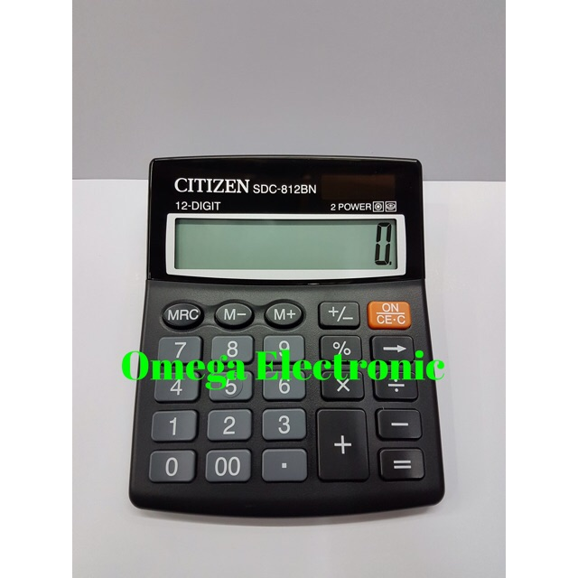 Calkulator citizen SDC 868 L Kalkulator 12 digit dual power  ba27379ea8