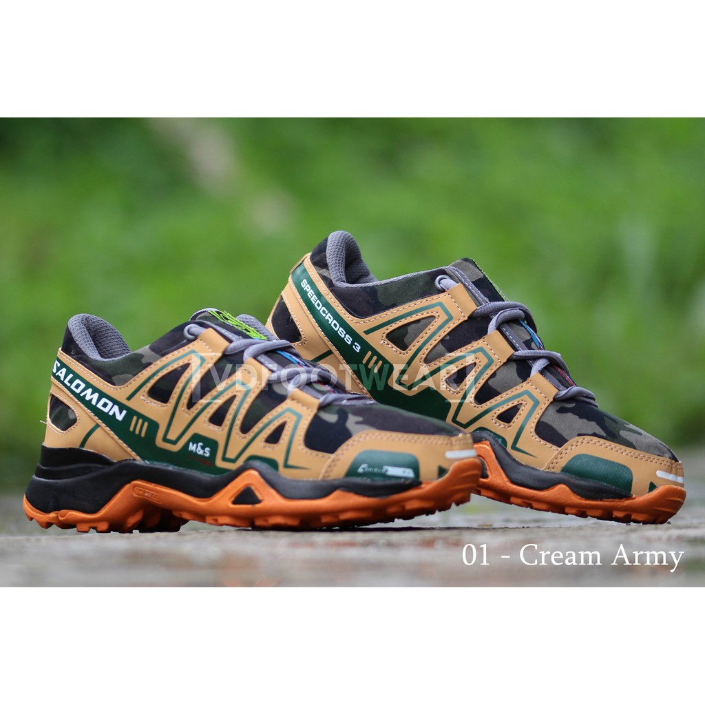 vD - Sepatu Olahraga Outdoor Salomon Speed Cross II Running Shoes ... 639e1c47ee