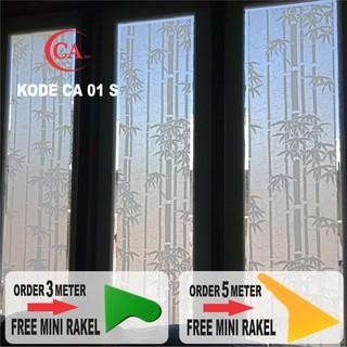 Stiker Kaca Film Pelapis Kaca Jendela Pintu Rumah Kantor