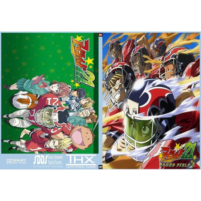 Beli Dvd Kaset Film Anime Eyeshield 21 Sub Indo Eps 1 End Stok Terbatas Shopee Indonesia