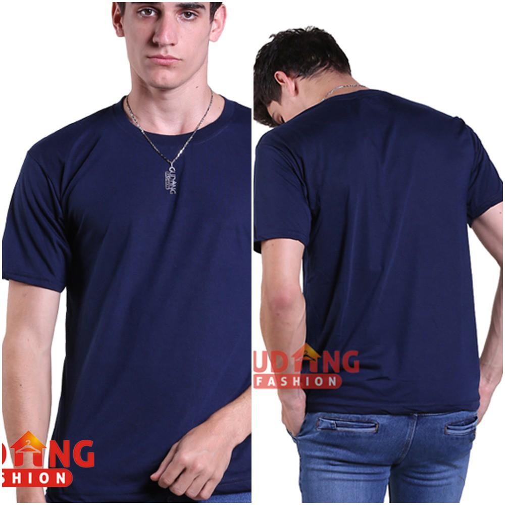 Kaos Polos Pria Lengan Pendek - Oneck / Basic Tshirt Oneck / Kaos Murah / Kaos Grosir (PLS)