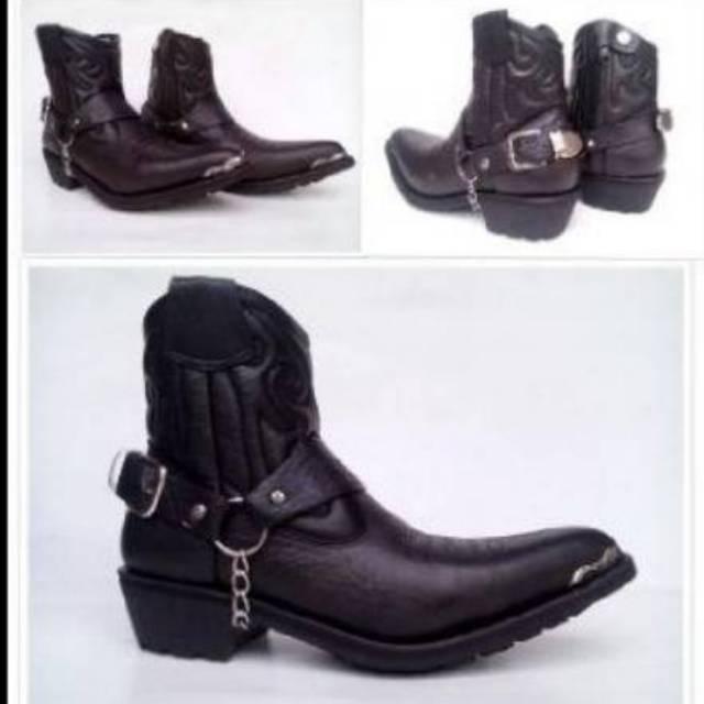sepatu cowboy - Temukan Harga dan Penawaran Boots Online Terbaik - Sepatu  Pria Februari 2019  5efb42eb45