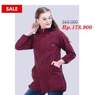 Promo - Jaket Parasut Premium Wanita Anti Air - Dark Purple- Ungu Tua - Original Geearsy Bandung | Shopee Indonesia