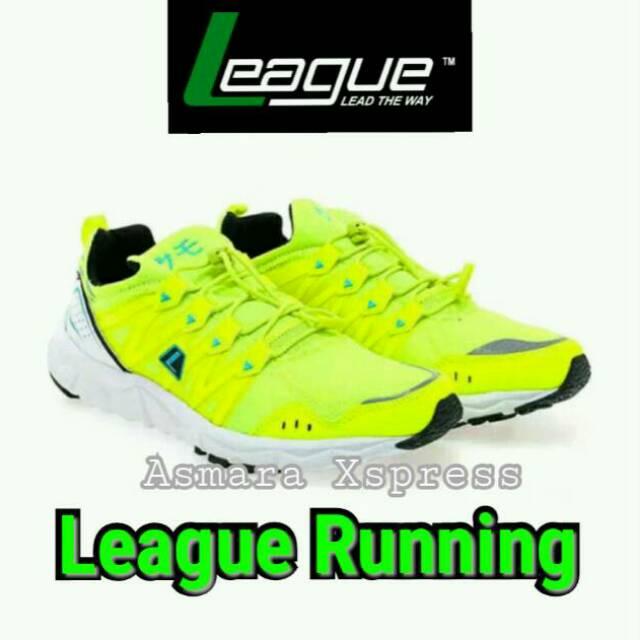 League Original Kumo 1.5 M Sepatu Lari Pria - Dazzling Grey-Volt ... 6200356fc3