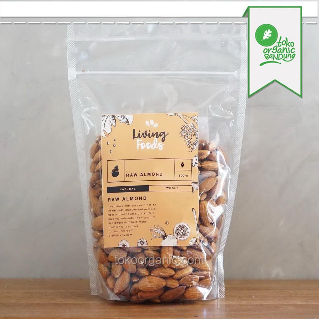 Maja Raw Activated Almond 250gr Shopee Indonesia Slice Kacang Mentah Irisan