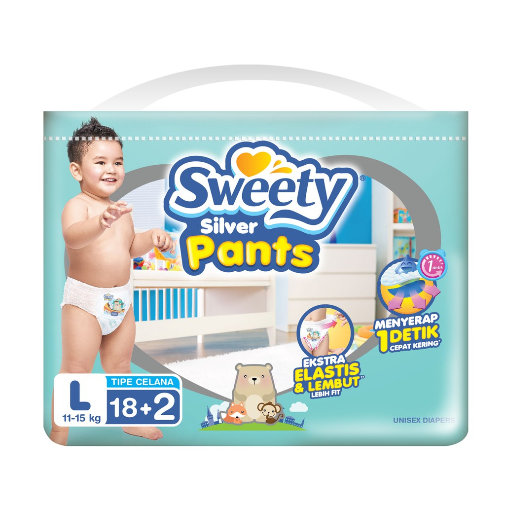Fitti Day Pants M 56 L 48 Xl 44 Shopee Indonesia Merries Popok Good Skin 16 Pulau Jawa Only