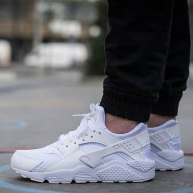 Sepatu Nike Huarache All White Premium Original